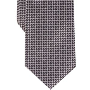 Perry Ellis Men's Bayou Mini-Check Tie